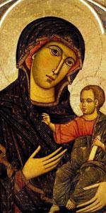 Диетисальви ди Спеме Богоматерь с младенцем