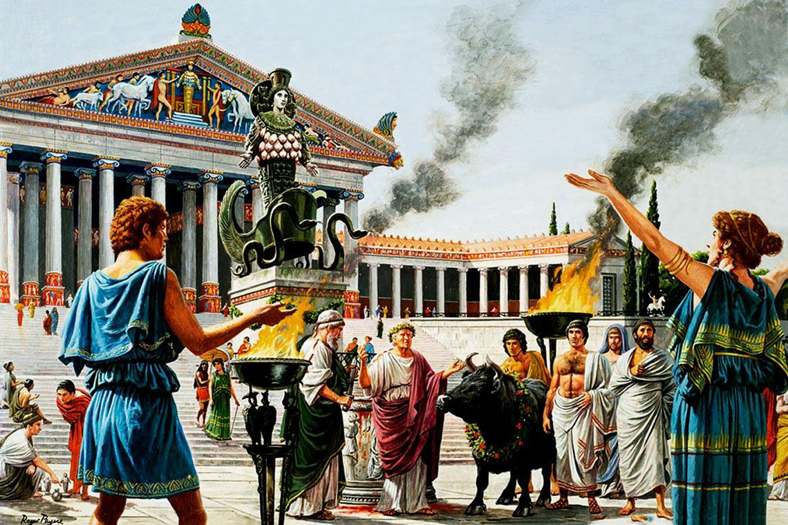 Жрецы древнего рима доклад 6124