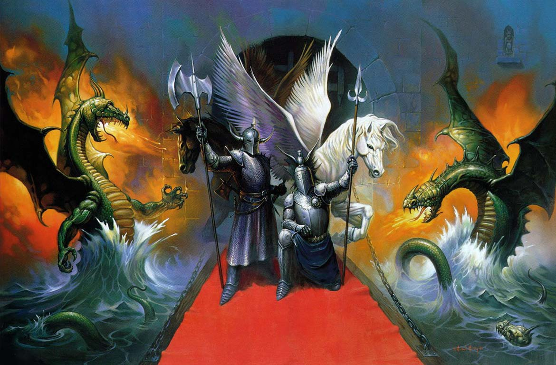 Mitovi,  legende, narodno predanje - Page 2 Dragons10