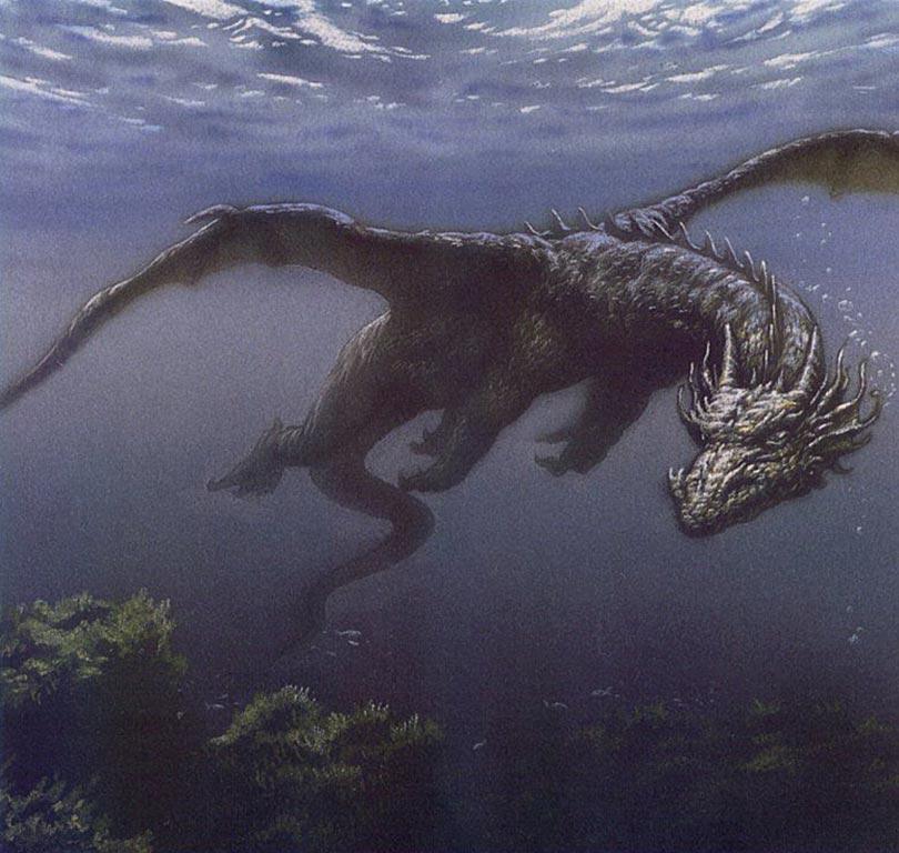 ...(IL PAPA): Левиафан, Тайна Левиафан в библейской традиции - морское чудовище.