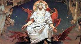 Виктор Васнецов Бог Саваоф