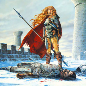 Валькирия над сраженным конунгом